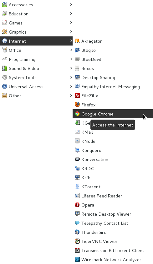 How to Install Chrome on Fedora 17