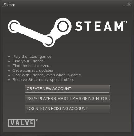 Steam Client running on Fedora