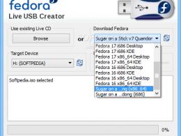 Fedora Live USB Creator